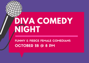 Diva Comedy Night – SOLD OUT