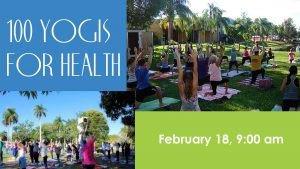 100 Yogis for Health