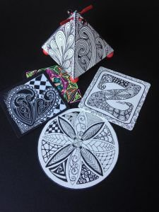 Zentangle® – The Basics and More Class (Ages 12+)