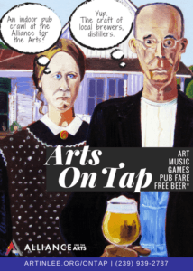 Arts on Tap: Indoor Art & Pub Crawl