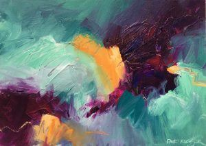 BIGGER, FASTER, FRESHER, LOOSER ABSTRACT PAINTING (Ages 16+)