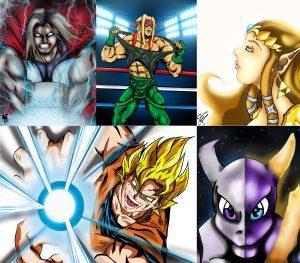 Comics and Figure Art (Ages 10 – 17)