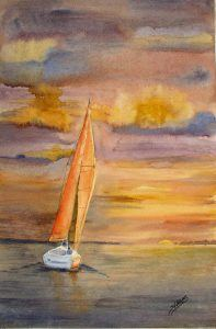 Watercolor Made Easy – Exploring Texture, Washes, Glazes, and Wet-in-Wet (ages 13+)