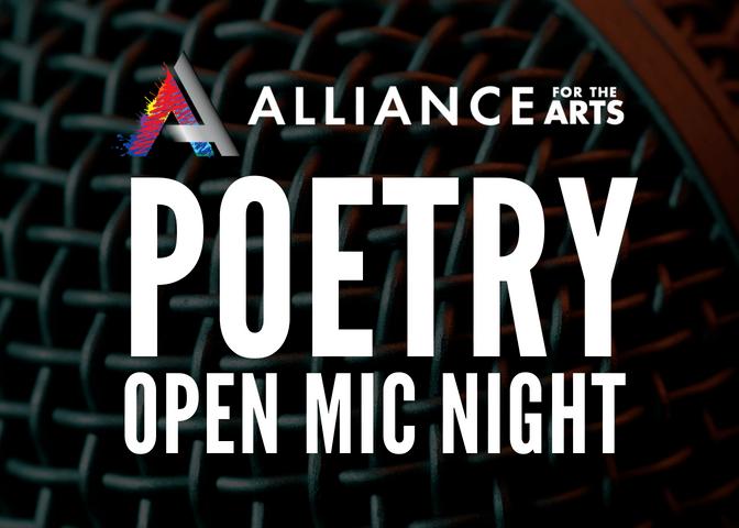Poetry Open Mic Night (July 2019)